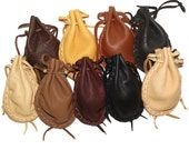 Ball bags double drawstrings ammo marbles coins tokens dice stones