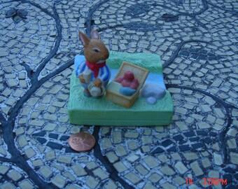 Foxwood Tales - The Foxwood Regatta Bunny Rabbit Figurine - 1988
