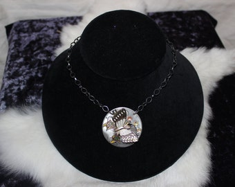 Steampunk Butterfly Dreams Necklace   -   SP 016-3