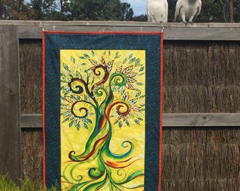 Tree Wall Hanging Quilt