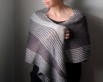 DISSENT Shawl Yarn & Pattern Kit - Merino/Silk Fingering