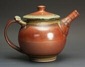 Stoneware teapot, pottery tea pot, ceramic teapot 24 oz 3005