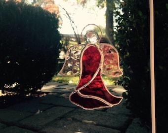 Red Glass Angel