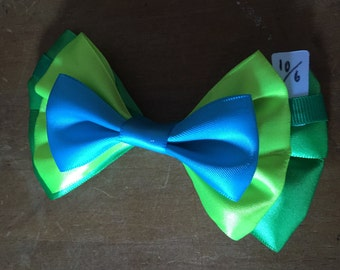 Disney Inspired Mad Hatter (Alice In Wonderland) Hair Bow