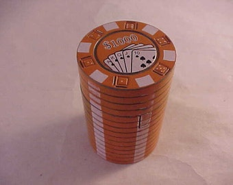 Poker Chip Stack Butane Lighter