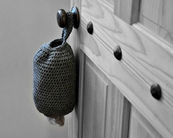 Plastic Grocery Bag Holder Kitchen Organizer Modern Home Decor Spare Bag Dispenser Custom Colors