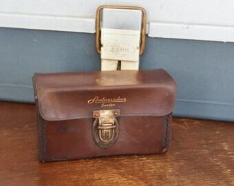 Vintage Leather ABU Garcia Ambassadeur Reel Case