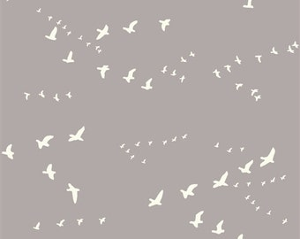 2 Yards Organic DOUBLE GAUZE Fabric - Flight Shroom