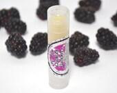 Organic Chapstick Blackberry Almond Oil All Natural Lip Balm Cocoa Butter Lip Care