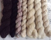 "Odds and pieces no2 - ""Once upon a time"" collection of handspun yarns"