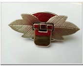 1pcs  leaf twist-locks Purse Flip Locks puse locks Turn Lock / Twist Lock, nickel / silver Finish, Handbag Purse Bag Making Hardware Supplie