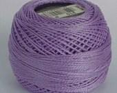 DMC Perle Cotton, Size 8, DMC 210, Pearl Cotton Ball, Medium Lavender, Embroidery Thread