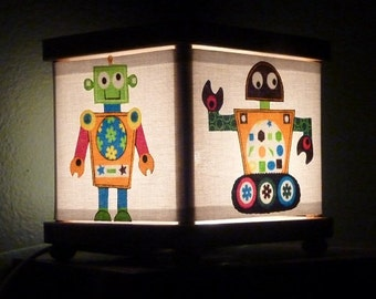 Robot Night Light Decor Robots Nightlight Lighting