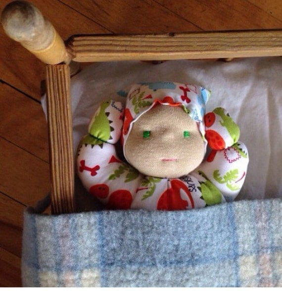 INSTANT PDF download Waldorf doll tutorial Inspired Baby Doll sewing pattern perfect for a toddler