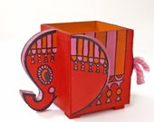 Vintage Pop Art Elephant Box