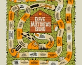 ONE Per Person! DMB Tour Poster New Color Way