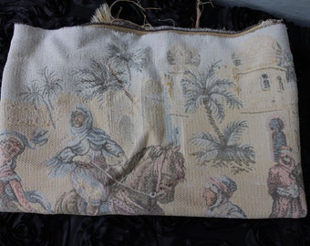 Vintage Fabric middle eastern fabric