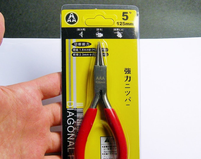 Round nose pliers -  jewelers tool -  5 inch - good value - PT1