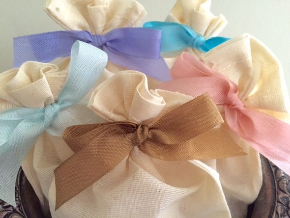 Ribbon Ties for Muslin bags -  Add On You Choose Color