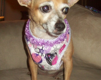 Hearts & Flowers Dog Harness