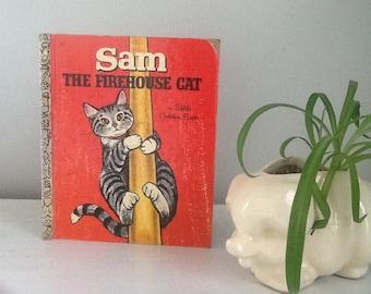 Sam the Firehouse Cat, LGB Vintage Little Golden Book