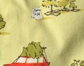Heather Ross Munki Munki PJ sleeve Flannel fabric Holiday Tree Lot
