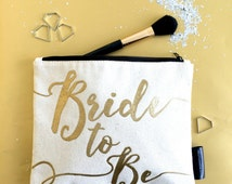 Bride-to-Be Cosmetics Bag