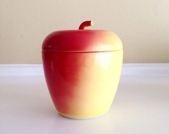 Hazel Atlas Apple Container with Lid