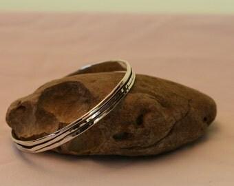 Stacking Bangles, Handcrafted Bracelet, Silver Bracelet,  925 Sterling Silver Bracelet, Silver Bangle ,