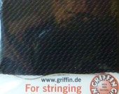 Size 2 Black Silk Beading Thread with Needle Attached -  Griffin Pure Silk Thread
