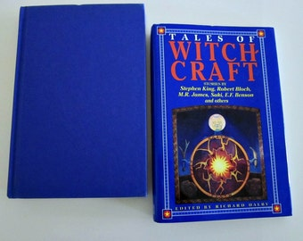 Vintage Tales of Witch Craft Stories by Stephen King, Robert Block, M R James, Saki, Benson and Others - Fictional Witch Craft Collectable