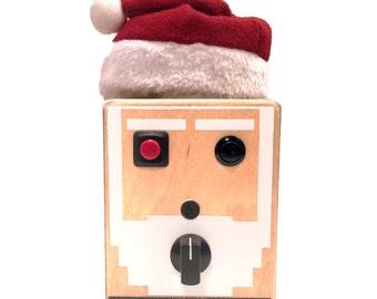 8Bit Santa Voice Recording Gadget