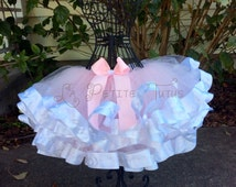 how to make a ribbon edged tutu