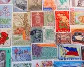 Happy Moon Year Asian Persuasion 50 Vintage Asia Postage Stamps Korea China Vietnam Thailand Indonesia Japan Singapore HK Wu Tang Worldwide