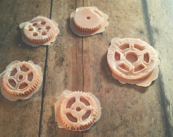 Cogs, Steampunk, Cosplay, Costume, Latex, makeup prosthetics, LARP, halloween