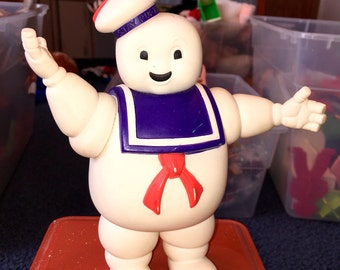 1984 Columbia Pictures ghostbusyers movie Stay Puft marshmallow man large action figure