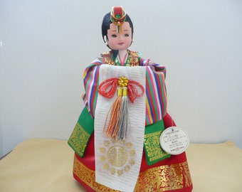 Korean International Costume Collector Doll