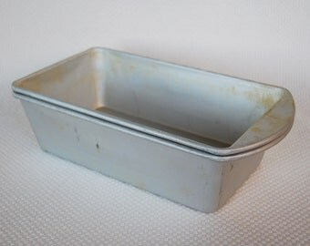 Set of 2 Mirro Bread Loaf Pans Full Size Loaf Pans Same Size as MIRRO Model 5030AM and M-5010-22Loaf Pans Newer Mirro Stamp