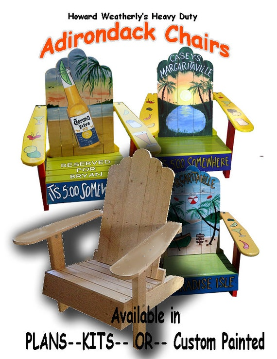 articles similaires chaise adirondack plans sur etsy. Black Bedroom Furniture Sets. Home Design Ideas