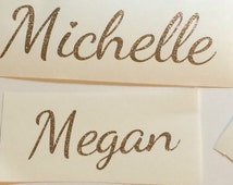 Glitter Name Decal, Name Stickers, Personalized Name Stickers, Name Decor, Name Decals for Cups, Name Decal Yeti