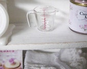 Measuring cup Decal for your glass measuring cup - 12th scale miniature