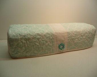Minty Quatrefoil - Quilted Cricut Explore Cozy - Explore Cozy - Explore Dust Cover