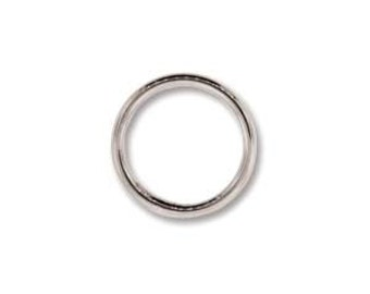 Findings-Round Closed Jump Ring-4mm Silver Plate-Soldered-20 Gauge-Quantity 144