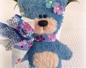 OOAK Artist Bear - Blue Bear by Bosley Bears