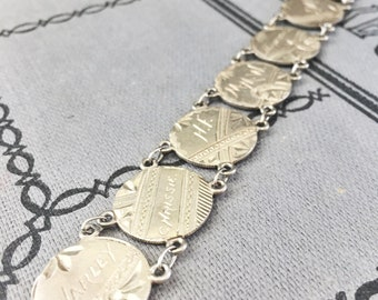 Antique 1887-1891 Love Token Bracelet