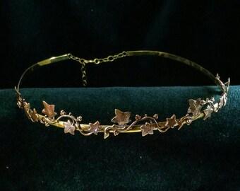 Ivy Circlet Crown Headpiece