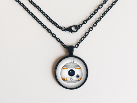 BB8 from Star Wars Tsum Tsum Necklace or Keychain