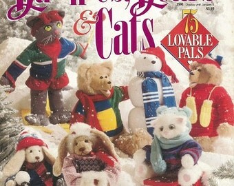 """Better Homes and Gardens """"Bunnies, Bears, & Cats""""  Special Interest Magazine"""