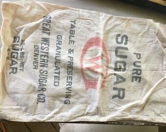 Vintage GW Sugar Sack
