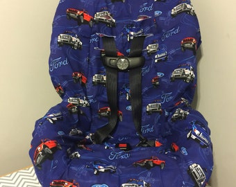 Booster Car Seat Cover Made With Paw Patrol Fabric Including